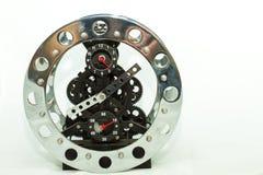 Skeleton Clock Stock Image