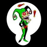 Skeleton Clown Royalty Free Stock Photo