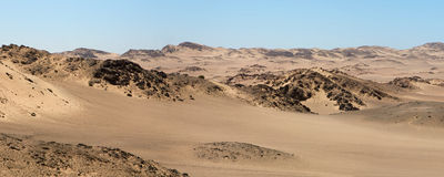 The Skeleton Coast Desert Royalty Free Stock Photo