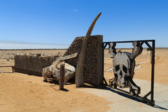 Skeleton coast gate Stock Photography