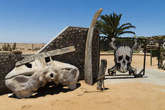Skeleton coast gate Royalty Free Stock Photo