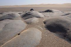 Skeleton Coast Park. Rocks in the Skeleton Coast Park (Namib desert) in Namibia stock photos