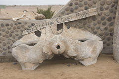 Skeleton Coast Royalty Free Stock Photography