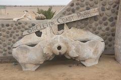 Skeleton Coast royalty free stock photography