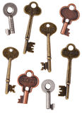 Skeleton Door Keys Stock Images