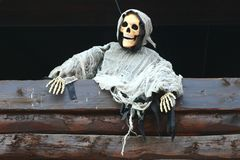 Skeleton ghost. A terrible dangerous skeleton vision Stock Photo