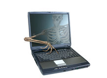 Skeleton Hacker Stock Photos
