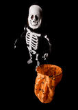 Skeleton Halloween Costume Royalty Free Stock Image