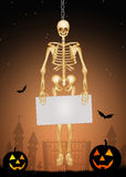 Skeleton of Halloween Royalty Free Stock Photography