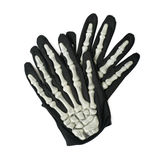 Skeleton hand glove isolated Royalty Free Stock Images