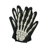 Skeleton hand glove isolated Stock Photography