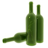 Skeleton In Bottle Stock Images