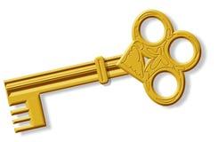 Skeleton key. This illustration depicts a skeleton key stock illustration