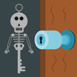 Skeleton key Stock Photo