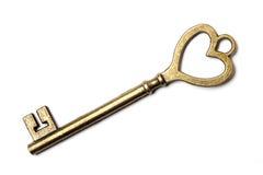 Skeleton key. On white background stock images