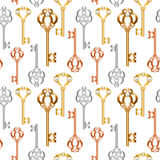 Skeleton keys Royalty Free Stock Photography