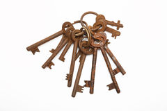 Skeleton keys Stock Photos