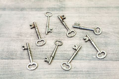 Skeleton Keys Royalty Free Stock Image