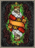Skeleton King Stock Images