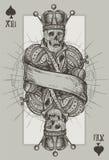 Skeleton King Royalty Free Stock Photos