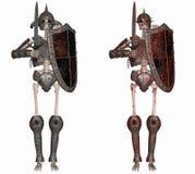 Skeleton Krieger Lizenzfreies Stockfoto