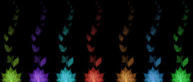 Skeleton leaf abstract background Royalty Free Stock Photo