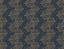Skeleton maple leaves pattern. stock illustration