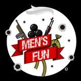 Skeleton Mens Fun Royalty Free Stock Photography