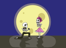 Skeleton Proposal Royalty Free Stock Image