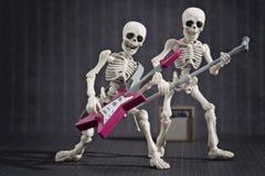 Skeleton Rock Band Royalty Free Stock Photos