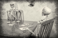 Skeleton Rummy Stock Photo