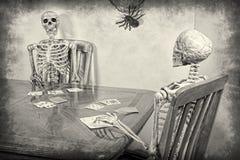 Skeleton Rummy Stock Photo