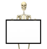 Skeleton Sign one Royalty Free Stock Photography