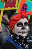 Skeleton in street Parade Stock Photos