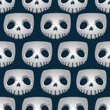 Skeleton texture, seamless Stock Image