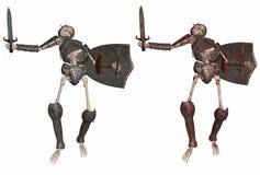 Skeleton Warrior Stock Photography