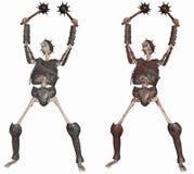 Skeleton Warrior Royalty Free Stock Photos