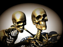 Skeletons 18 Stock Photo