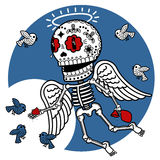 Skeletons Angelic Grace Royalty Free Stock Images