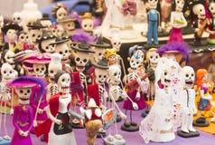 Skeletons figures Stock Photos