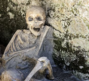 Skeletons at Herculaneum Royalty Free Stock Photo