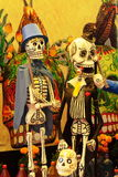 Skeletons II. Skeletons as part of the commemoration of the day of the dead, in mexico city Royalty Free Stock Photos