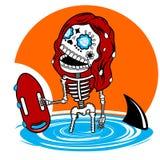 Skeletons  Malibu Stock Photography