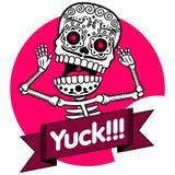 Skeletons. T-shirt. Yuck Stock Photos