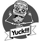 Skeletons. T-shirt. Yuck Royalty Free Stock Image