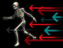 skelett 4 Arkivbild