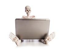 Skeleton Arbeiten Lizenzfreie Stockbilder