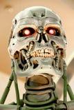 Skelett för slut T-800 Arkivbild