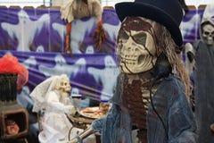 Skelett für Halloween Stockbilder