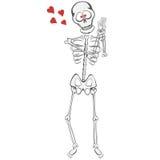 Skelett- kompis Fotografering för Bildbyråer
